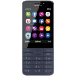 "Nokia 230 DS 7.11 cm (2.8"") 91.8 g Blue"