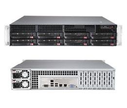 Supermicro SuperServer 6028R-TR Intel® C612 LGA 2011 (Socket R) Rack (2U) Black