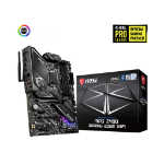 MSI MPG Z490 GAMING EDGE WIFI 'ATX, LGA1200, DDR4, LAN, 802.11ax WiFi 6 + Bluetooth 5.1, USB 3.2, Lightning USB, Type C, M.2, RGB, DisplayPort, HDMI, Gen 4 Ready, 10th Gen Intel Core'