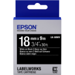 Epson LK-5BWV labelprinter-tape