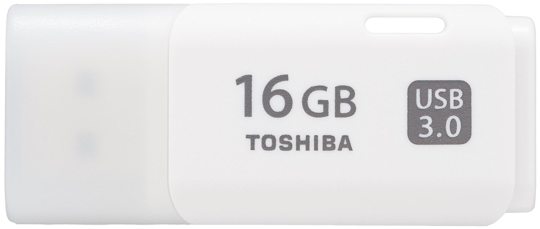 Toshiba TransMemory 16GB 16GB USB 3.0 (3.1 Gen 1) Type-A White USB flash drive