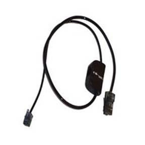 Plantronics 86009-01 Black telephony cable