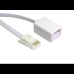 Cables Direct BT/BT 10m White