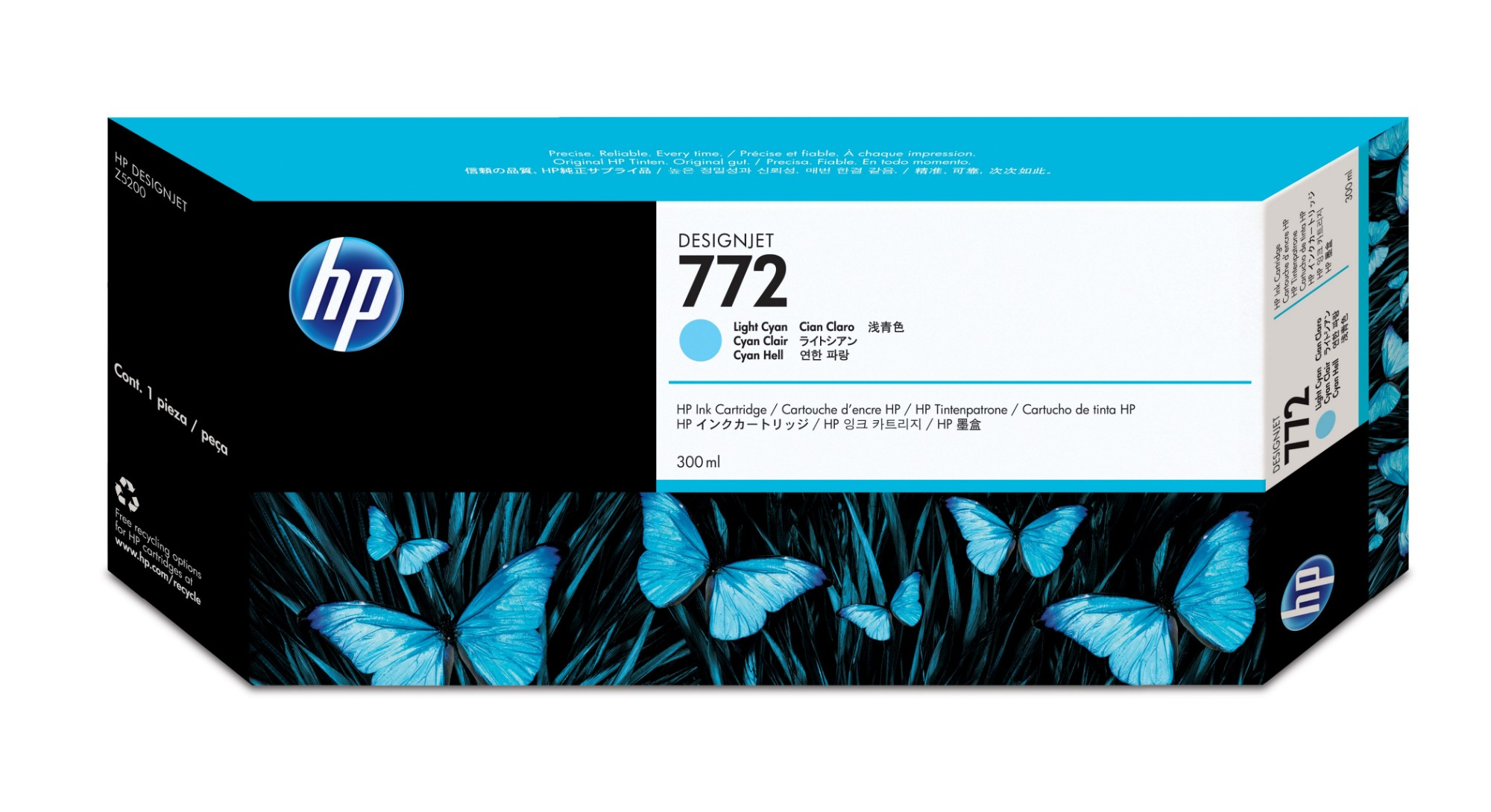 HP 772 Original Cian claro