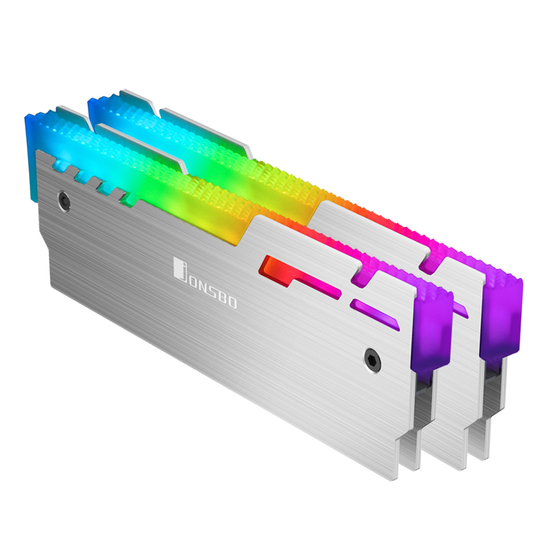 Jonsbo NC-3 ARGB Memory module Heatsink Silver