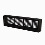 """StarTech.com 3U Rack Mount Security Cover - Hinged Locking Rack Panel/ Cage/Door for Physical Security/ Access Control of 19"""" Server Rack & Network Cabinet - Assembled w/Mounting Hardware"""