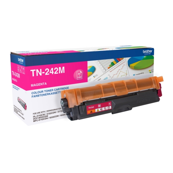 Brother TN-242M Toner magenta, 1.4K pages
