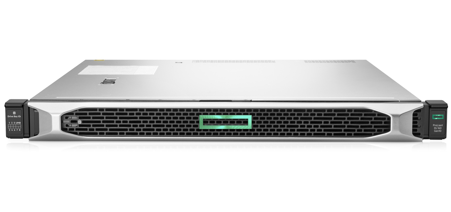 Hewlett Packard Enterprise ProLiant DL160 Gen10 servidor Intel® Xeon® Silver 2,4 GHz 16 GB DDR4-SDRAM 20 TB Bastidor (1U) 500 W