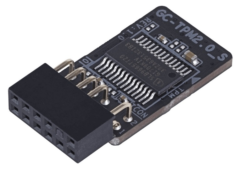 Gigabyte GC-TPM2.0_S Trusted Platform Module for X299-series, Z370-series (Intel) and X399-series, AB350N-Gam