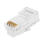 Monoprice 7245 wire connector RJ-45 Transparent