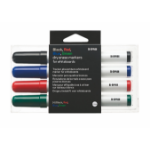 Bi-Office Dryerase Markers Assorted PK4