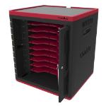 Rocstor VTSC10-01 charging station organizer Desktop & wall mounted Black, Red