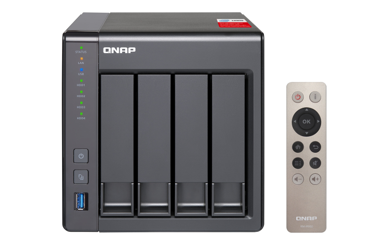 QNAP TS-451+ Ethernet LAN Tower Black NAS