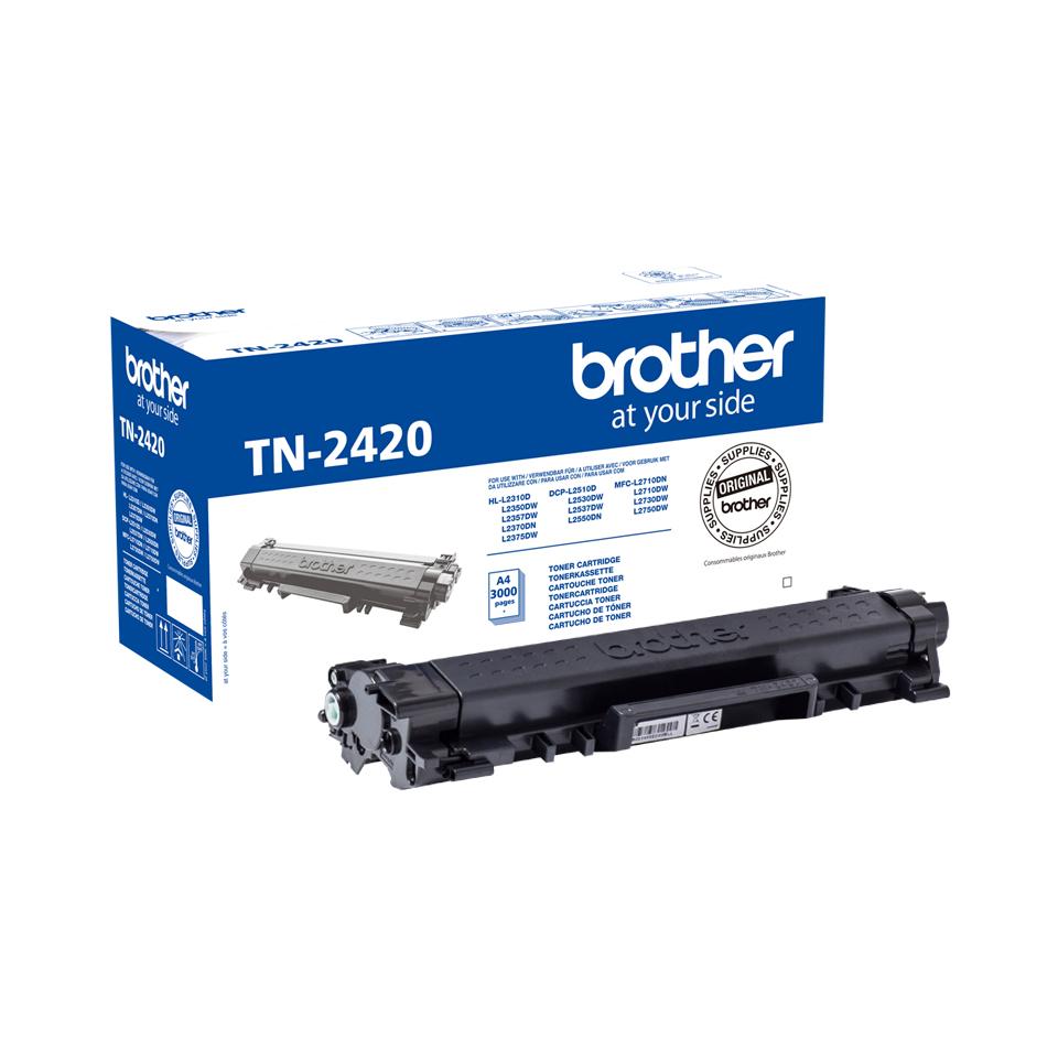 Brother TN-2420 cartucho de tóner Original Negro 1 pieza(s)