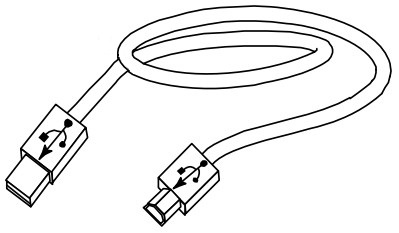 Datamax O'Neil 502543 USB cable