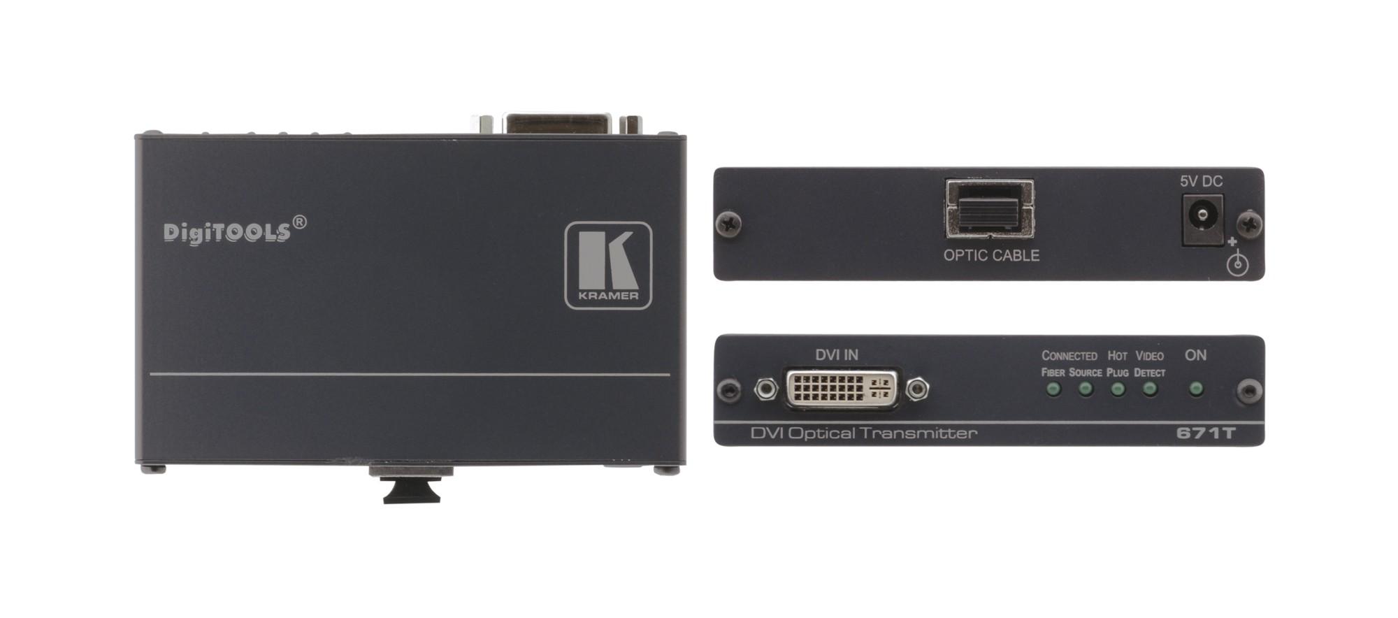 Kramer Electronics 671T AV transmitter Black AV extender