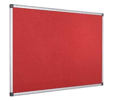 Bi-Office FA2746170 insert notice board Indoor Red Aluminium