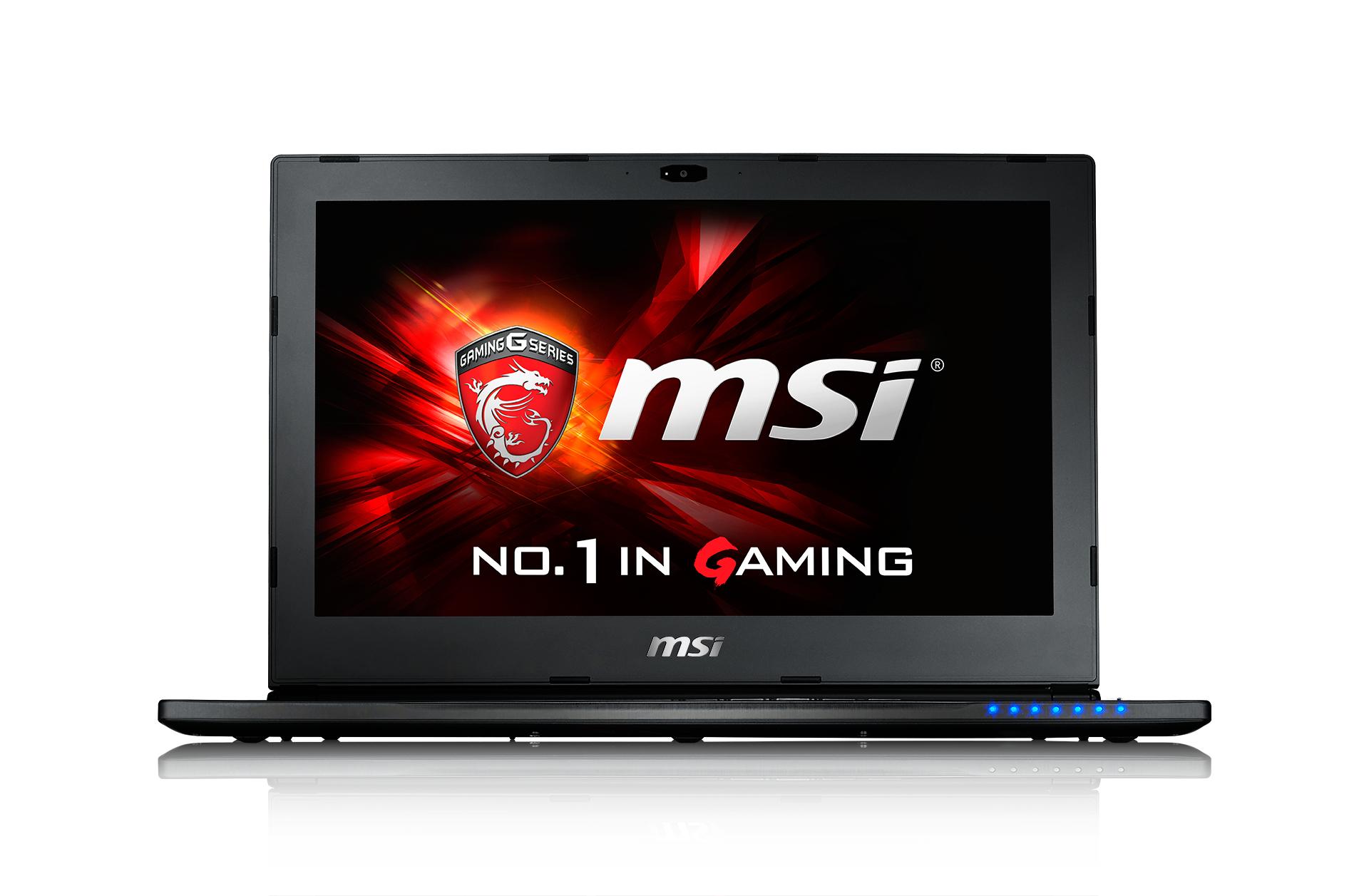 "MSI Gaming GS60 6QE(Ghost Pro)-011UK 2.6GHz i7-6700HQ 15.6"" 1920 x 1080pixels Black"