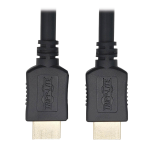 Tripp Lite Ultra High-Speed HDMI Cable - 8K @ 60 Hz, Dynamic HDR, 4:4:4, HDCP 2.2, M/M, Black, 3.05 m