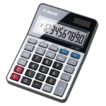 Canon LS-102 TC calculator Desktop Basic Black, Metallic