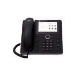AudioCodes C450HD IP phone Black Wired handset 8 lines TFT Wi-Fi