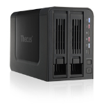 Thecus N2310 NAS Tower Ethernet LAN Black storage server