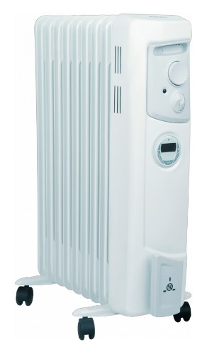 Dimplex OFC2000Ti Indoor White 2000W Oil electric space heater
