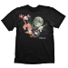 WORMS Three Worms Moon Small T-Shirt, Black (GE1253S)