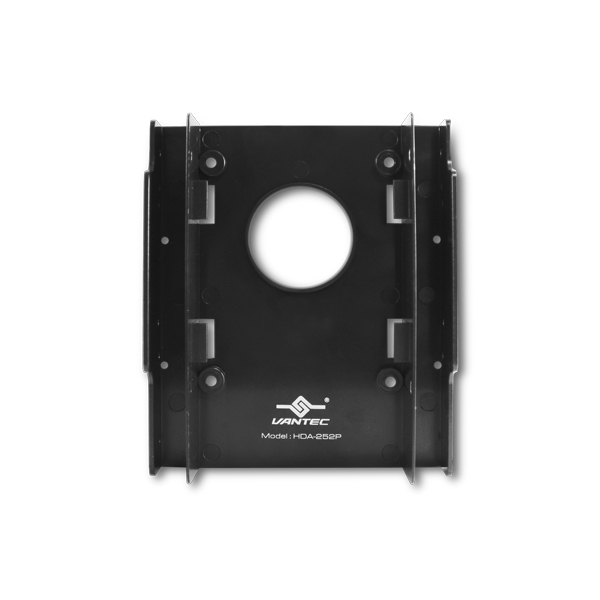 "Vantec HDA-252P drive bay panel 8.89 cm (3.5"") Black"