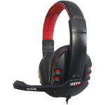 APPROX APPGH8 Stereo Gaming Headset with Microphone, Black/Red (APPGH8)