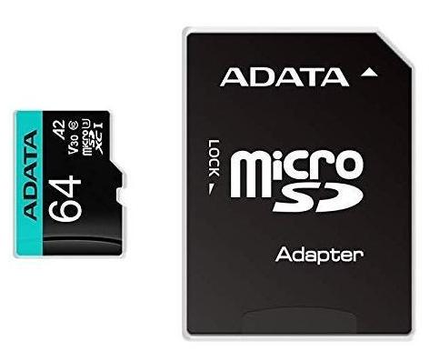 ADATA Premier Pro memory card 64 GB MicroSDXC UHS-I Class 10
