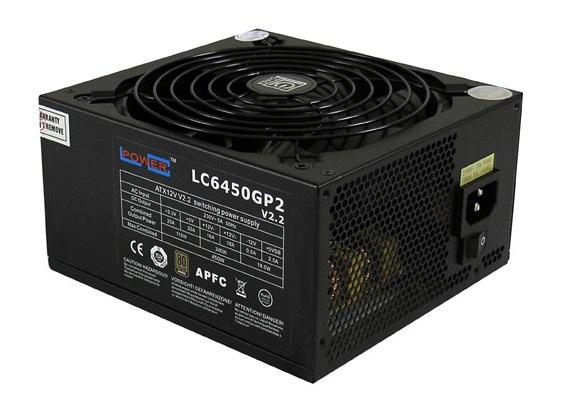 Netzteil (ATX 20-/24pin) Lc-power 450w/gp/140mm