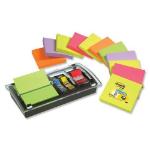 Post-It Note Value Pack self-adhesive label Black, Transparent