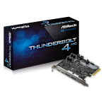 Asrock Thunderbolt 4 AIC interface cards/adapter Internal Thunderbolt 4, DisplayPort