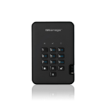 iStorage diskAshur2 256-bit 2TB USB 3.1 secure encrypted hard drive - Black IS-DA2-256-2000-B