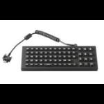Zebra KYBD-AZ-VC70-03R USB AZERTY Black mobile device keyboard