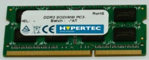 Hypertec 4GB DDR3 1600MHz memory module