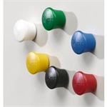 Nobo Magnetic Drawing Pins 18mm Assorted (12)