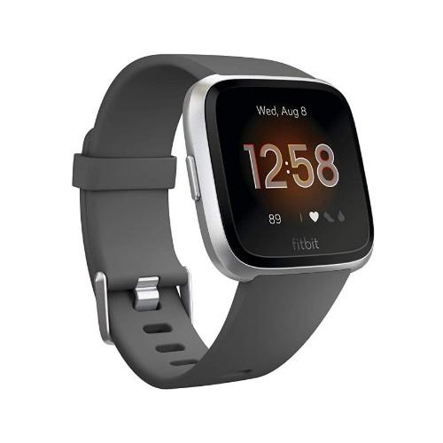 "Fitbit Versa Lite smartwatch Silver LCD 3.4 cm (1.34"")"
