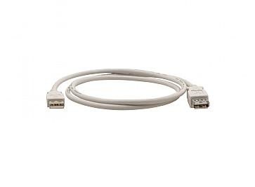 Kramer Electronics C-USB/AAE-3 cable USB 0,9 m 2.0 USB A Blanco