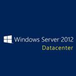 Microsoft Windows Server 2012 Datacenter, WIN, x64, 1pk, 2u, DSP, OEI, Add Lic, DVD, ENG
