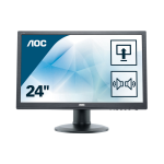 "AOC Pro-line E2460PDA LED display 61 cm (24"") 1920 x 1080 Pixeles Full HD LCD Plana Mate Negro"