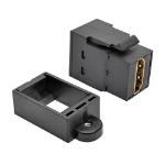 Tripp Lite HDMI All-in-One Keystone/Panel Mount Coupler (F/F), Black