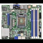 Asrock MT-C224 Intel C224 Socket H3 (LGA 1150) Mini ITX server/workstation motherboard