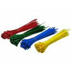 Cables Direct CT-200MIX cable tie Ladder cable tie Nylon Blue,Green,Red,Yellow