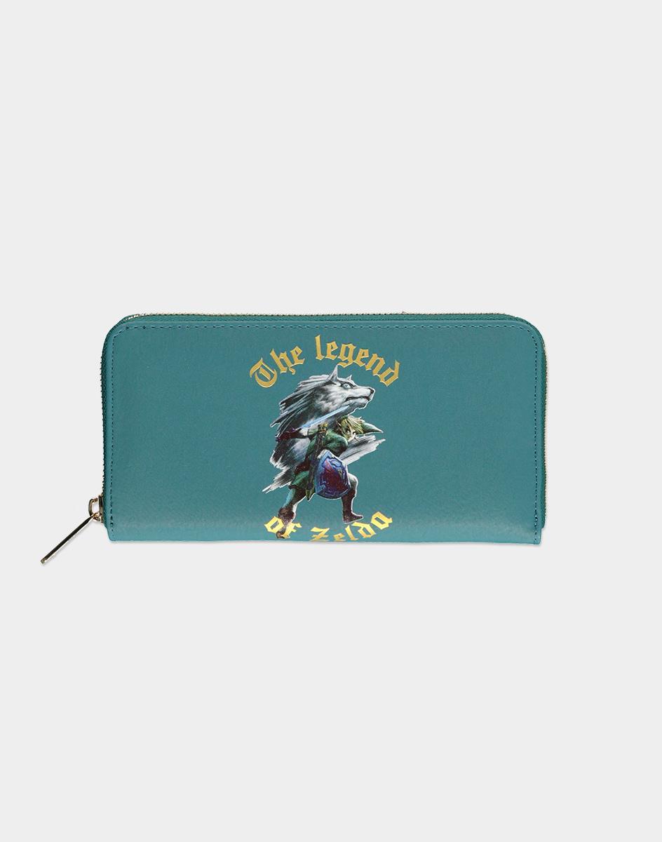 Nintendo Zelda wallet Female Green
