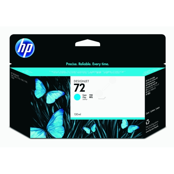 HP C9371A (72) Ink cartridge cyan, 130ml
