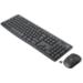 Logitech MK295 Silent Wireless Combo teclado RF inalámbrico Belga, Holandés Negro