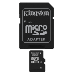 Kingston Technology 16Gb microSDHC 16GB MicroSDHC Flash Class 4 memory card SDC4/16GB