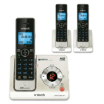 VTech LS6425-3 DECT Caller ID Black,Silver telephone